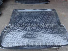 Черный качественный коврик в багажник Toyota LC PRADO 150