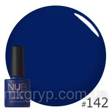 ГЕЛЬ-ЛАК NUB MONSTER SULLY 142, сине-фиолетовый, эмаль  8 мл