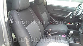 Чехлы на сиденья Chevrolet Aveo 3D, автоткань, АвтоМир