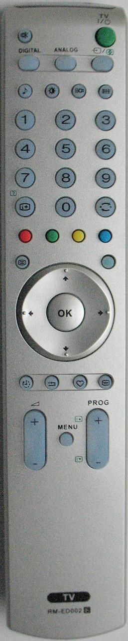 Пульт от телевизора SONY. Модель RM-ED002
