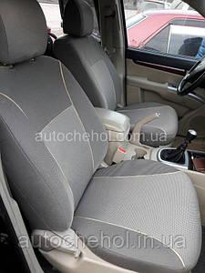 Чохли на сидіння Hyundai Santa Fe 2 2006 - 2012, автоткань, АвтоМир