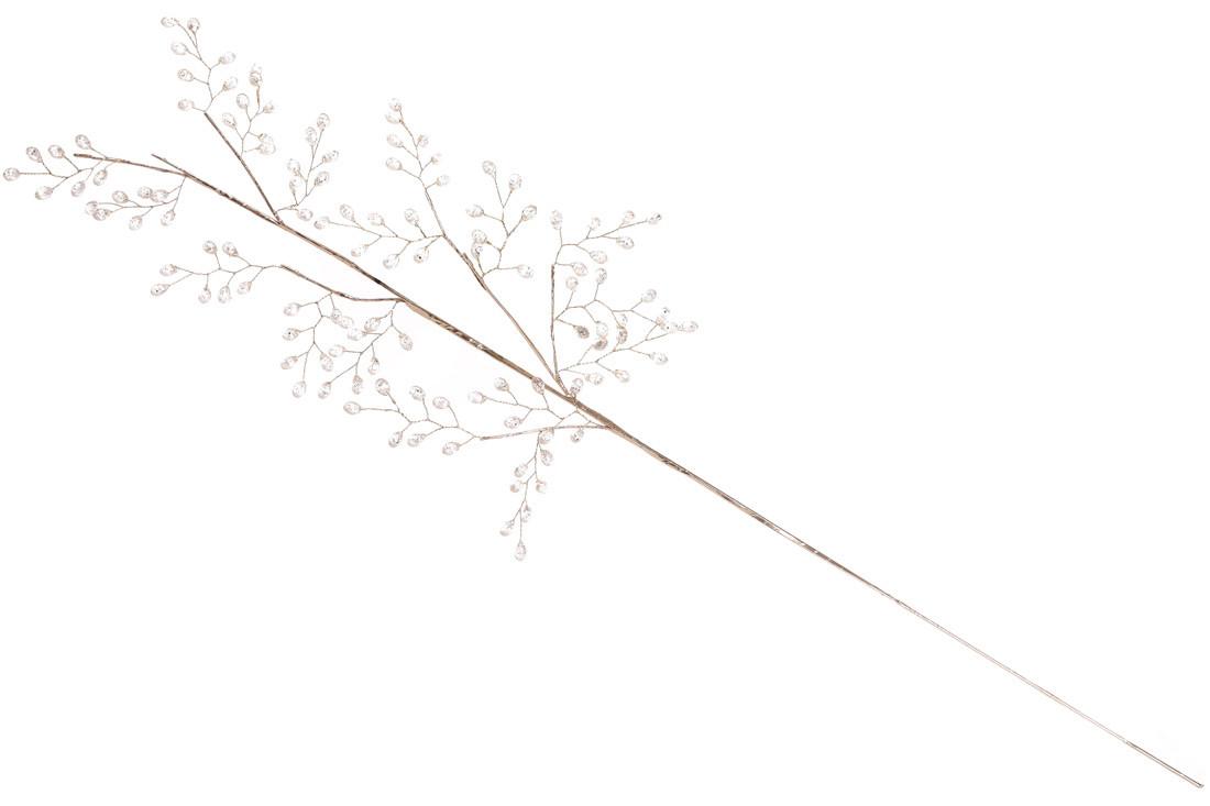 Декоративная ветка Хрустальный звон 76см (734-107)