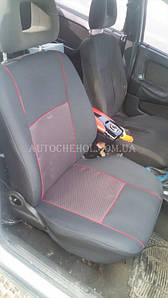 Чехлы на сиденья Opel Vectra A, автоткань, АвтоМир