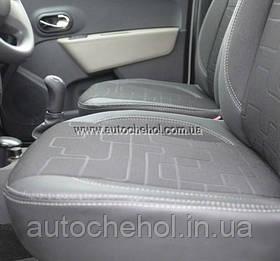 Чехлы на сиденья Renault Lodgy марки MW_BROTHERS