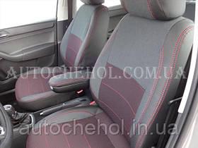 Чехлы на сиденья Seat Toledo, красная нить, авточехлы для toledo IV, MW BROTHERS
