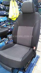 Чехлы на сиденья Skoda Superb 2, автоткань, АвтоМир