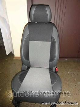 Чехлы на сиденья автомобиля Doblo 1+1