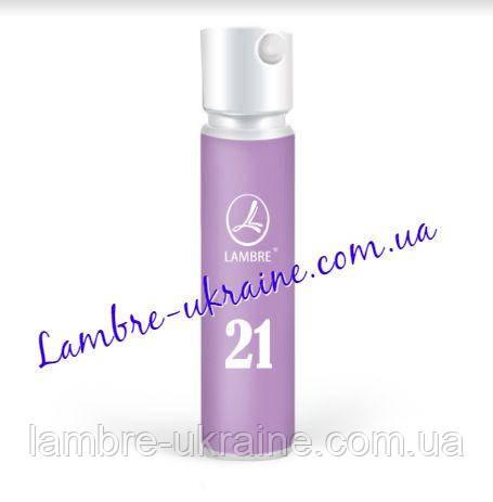 Пробник Парфуми Ламбре (Lambre) №21 - співзвучний з Amor Amor (Cacharel), 1.2 мл.