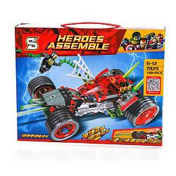 """Конструктор SY7029""""Автомобиль человека паука""""170деталей(Аналог Lego Super Heroes)"""