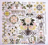 Схема для вышивки нитками Dreaming of Roses Rosewood Manor, фото 1