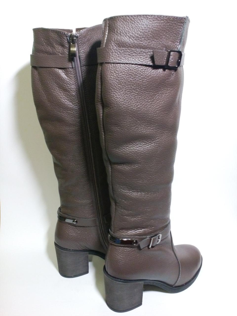 e52a32912 Сапоги высокие кожаные женские зимние на меху 37 размер: продажа ...