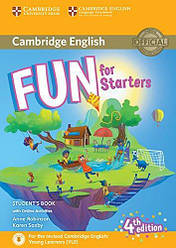Fun for Starters 4th Edition Student's Book with Online Activities, Audio and Home Fun Booklet