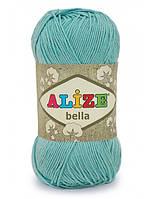Пряжа летняя Alize BELLA 100% хлопок, 50 г 180 м