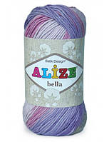 Пряжа летняя Alize Bella Batik 100% хлопок 50г 180 м