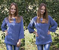 Свитер Милагра 42-48 джинс, фото 1