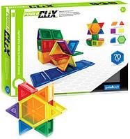 Конструктор Guidecraft PowerClix Solids, 70 деталей (G9422)