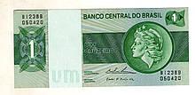Бразилія 1 крузейро стан UNC