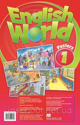 English World 1 Posters ISBN: 9780230024656