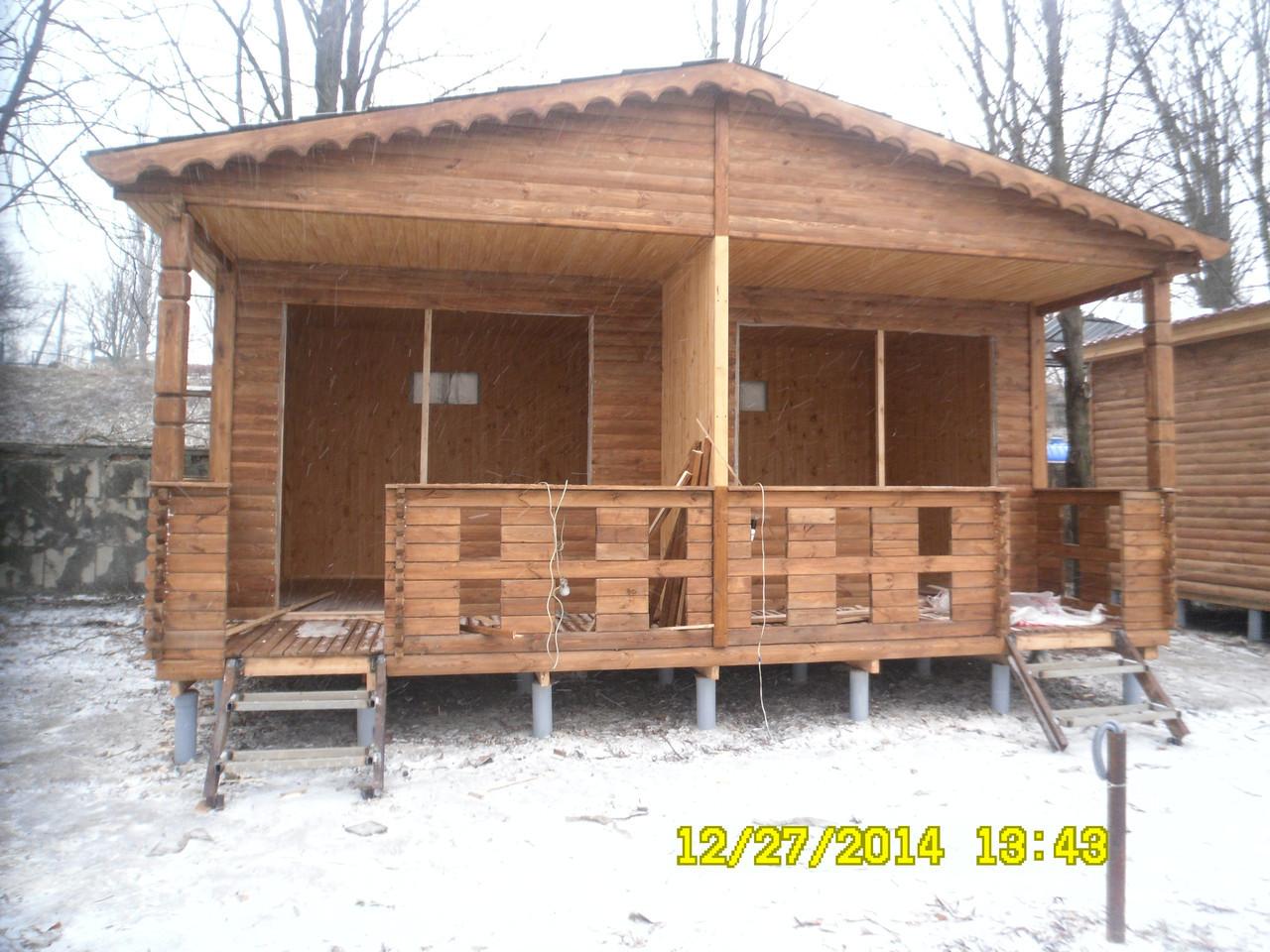 Баня деревянная сборная