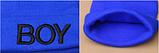 Шапка с 3D вышивкой BOY, фото 2