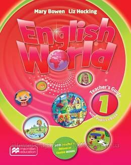 English World 1 Teacher's Guide + eBook Pack ISBN: 9781786327222