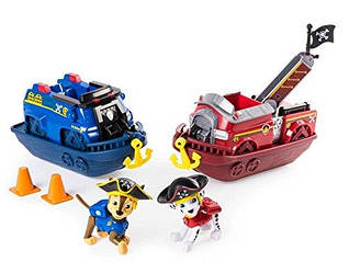 Paw Patrol Pirate Vehicles Chase & Marshall (Щенячий патруль Пірати Чейз і Маршал, Пираты Гонщик и Маршалл)