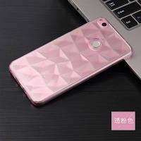 Силиконовый чехол Rhombus Diamond Case для Huawei P10 Lite