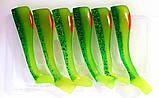 Виброхвост силиконовый Condor, H4, цвет 33, длина 100мм, 6шт, фото 2