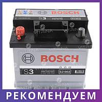 Аккумулятор BOSCH 45Ah-12v S3003 (207x175x190) со стандартными клеммами | L, EN400 (Европа)