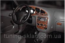 Накладки на торпеду Ford Fiesta 1995-2001 (декор панелі Форд Фієста)