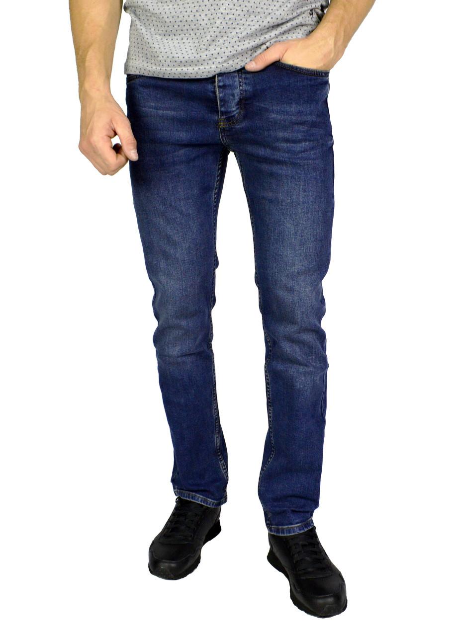 Синие мужские джинсы прямые TRIPTONIC