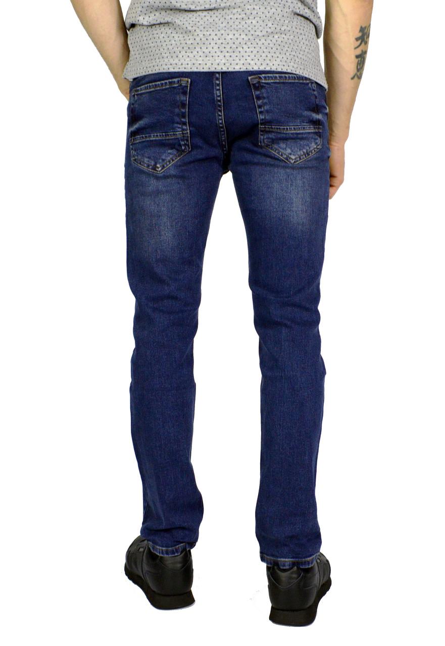 51c837fefc7 Синие мужские джинсы прямые TRIPTONIC