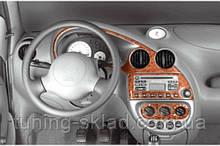Накладки на торпеду Ford Ka 1996-2008 (декор панелі Форд Ка)