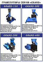 Гранулятор (Пресс) кормов и пеллет GRAND 400, фото 3