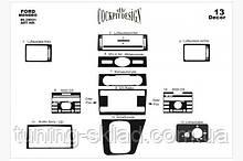 Накладки на торпеду Ford Mondeo 2003-2008 (декор панелі Форд Мондео)