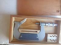 Микрометр резьбовой МВМ 75-100(Возможна калибровка в УкрЦСМ) ГОСТ 4380-93, фото 1