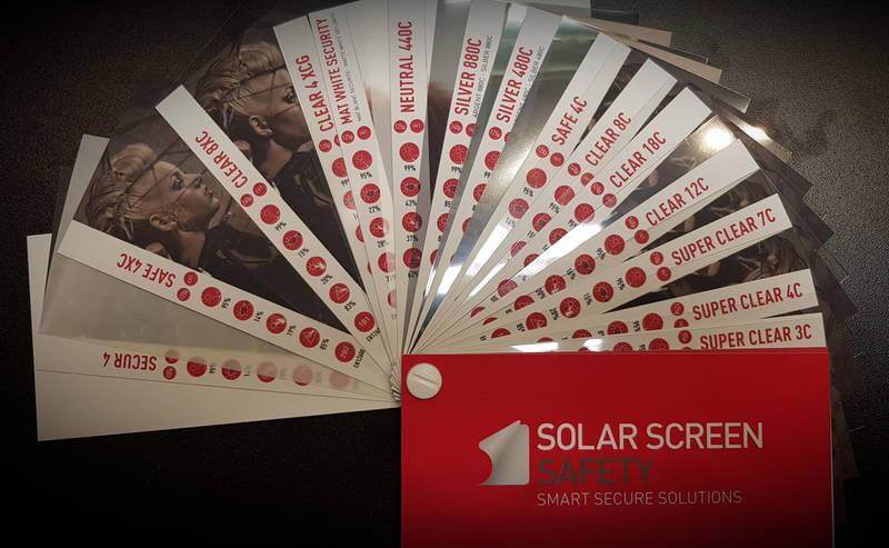 Каталог защитных пленок для тонировки окон Solar Screen, фото 2