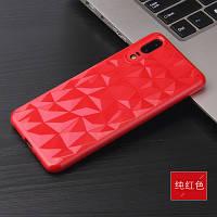 Силиконовый чехол Rhombus Diamond Case для Huawei P Smart Plus