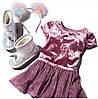 Шикарное велюровое платье Childrens Place нарядное на 3, 4, 5 лет  5Т