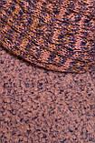 Зимнее пальто-батал полу-приталенного кроя. Высокий воротник и прорезные карманы. р.50 код 7013М, фото 4