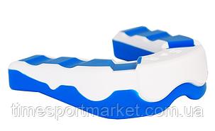 КАПА БОКСЕРСКАЯ POWER PLAY 3303 WHITE/BLUE, фото 2