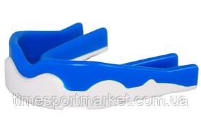 КАПА БОКСЕРСКАЯ POWER PLAY 3303 WHITE/BLUE, фото 3