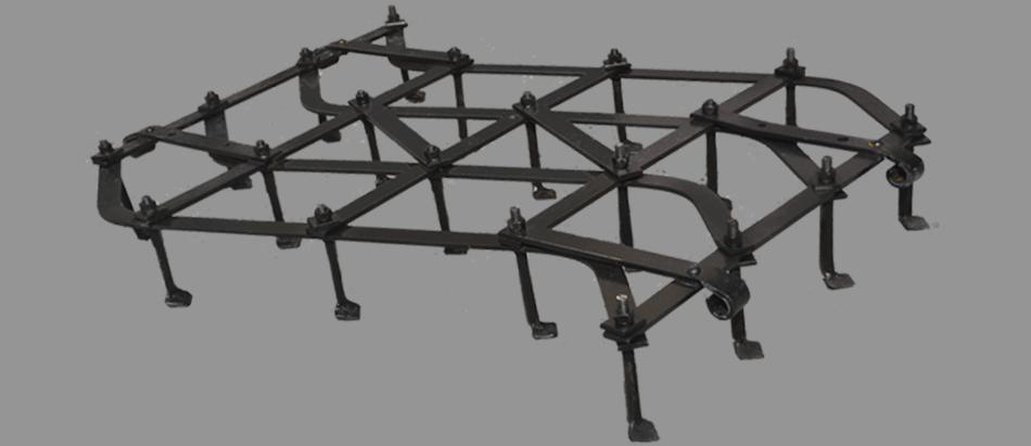 Борона культиватор 1м. БК-1,0