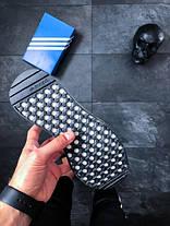 Мужские кроссовки Adidas Iniki Runner Black / White топ реплика, фото 3