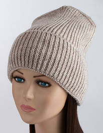 Молодежная вязаная шапка Стайл