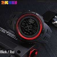 • Гарантия! Skmei (Скмей) Amigo 1251 Red  Оригинальные спортивные мужские часы !