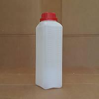 Канистра пластиковая с крышкой 1 литр (Флакон)