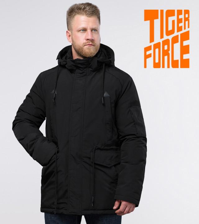 Tiger Force 71360 | Зимняя парка мужская черная
