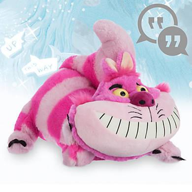 Плюшевый говорящий Чеширский кот из мф Алиса в стране чудес 30 см Дисней / Alice in Wonderland Disney