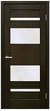 Двері міжкімнатні шпоновані Берлін зі склом Оміс